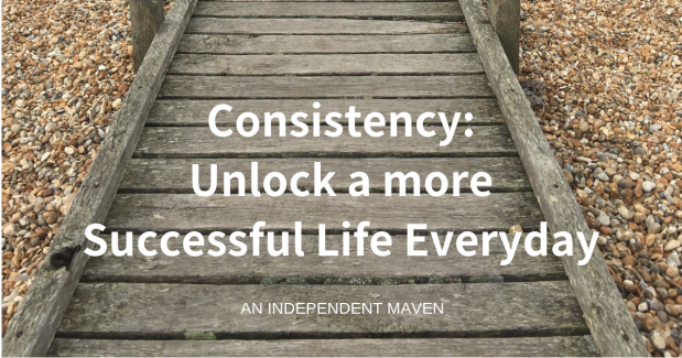 Consistency build momentum and unlock a more successful life everyday