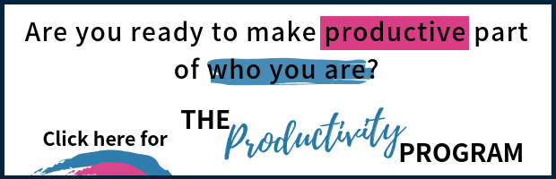 The Productivity Program post banner