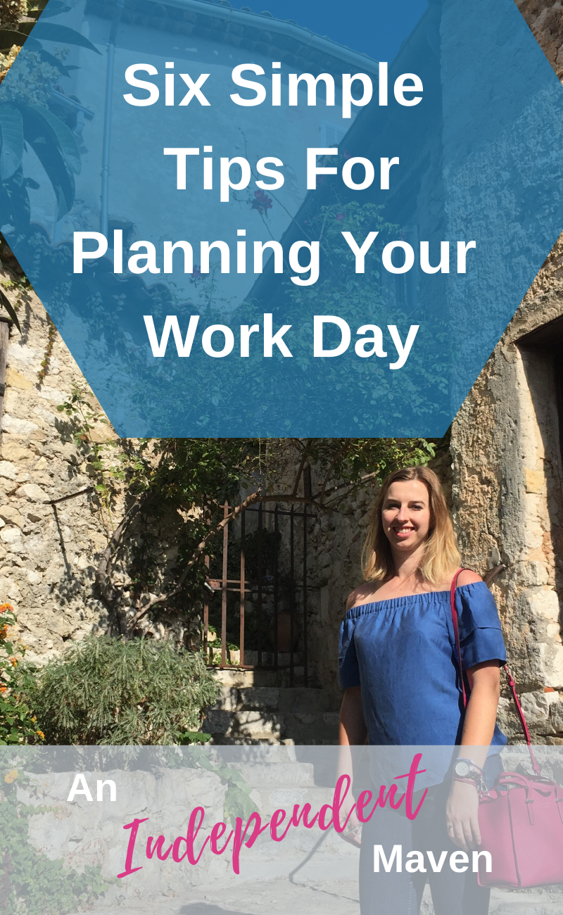 Time management tips to organise your work day.The better you set up your day to reflective the natural way you want to work the most effective you will be. You'll get more done, with less stress, less procrastination and more joy.