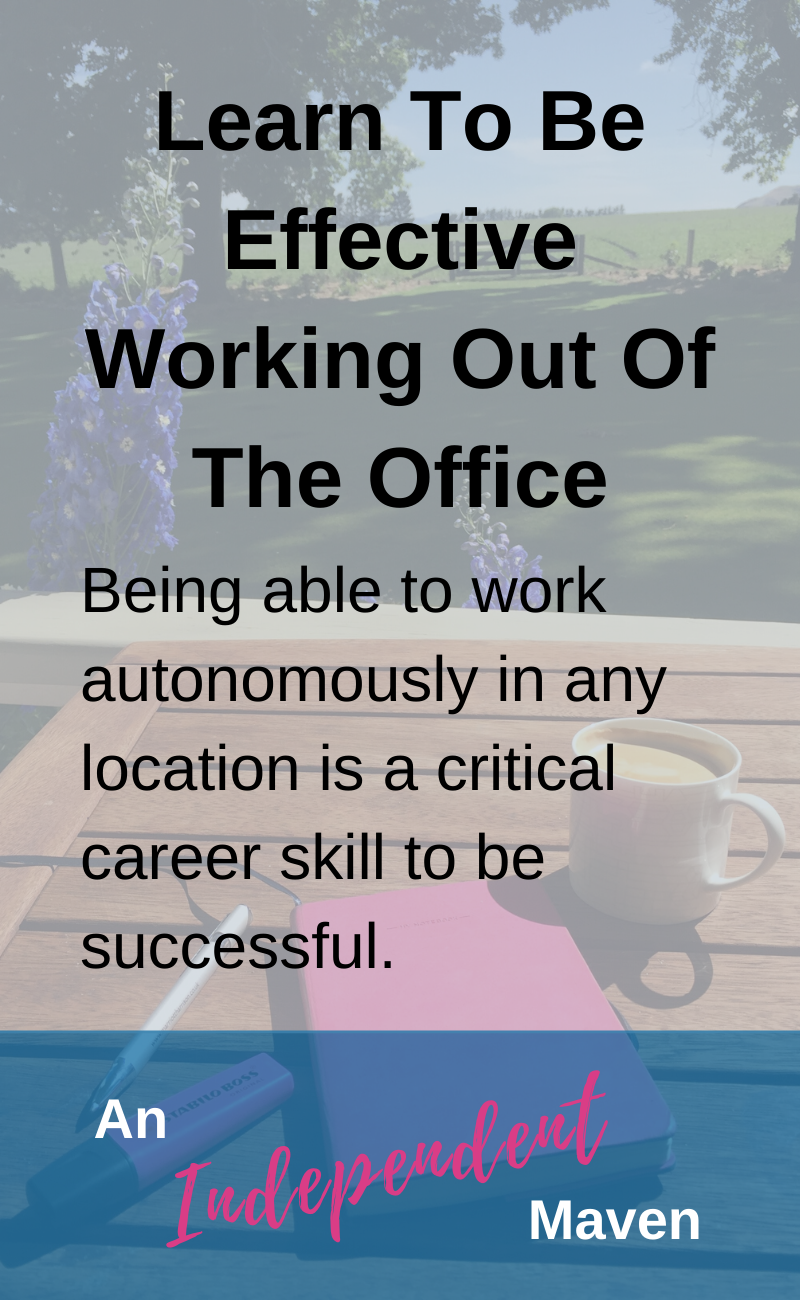 Whether is working on client site, working from home, your manager is based in a different office, the rise of flexible working, there are plenty of reasons to be able to work automonously. It is a critical modern career skill to be able to work effectively without supervision. Here are simple tips based on a decade of experience.