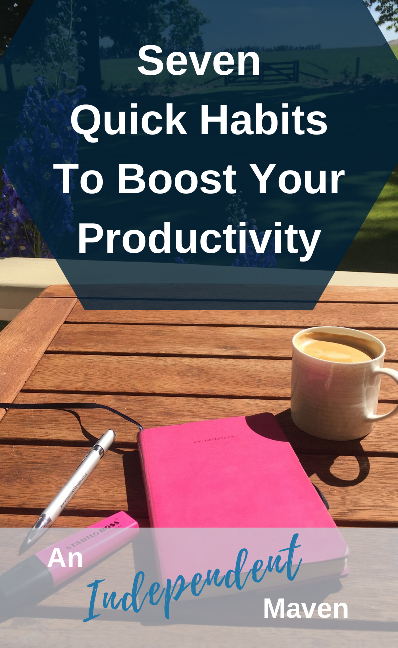 Boosting Your Producitivity can be simple and straightfoward with these tips. Use these productivity ideas to increase motivation and maximise your business. Think productivity hacks, productive things to do, and daily productivity inspiration.