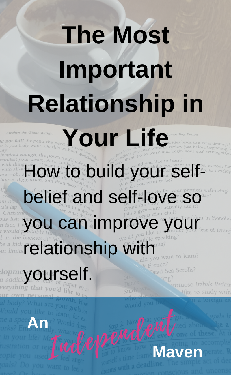 The most important relationship in our lives is the one we have we have with ourselves. We are the person we spend the most time with after all. Yet this is the relationship we put the least amount of effort into. Here are ideas on how to build your self worth so you feel like your own relationship is worth investing in AND ways to improve your and build a health relationship with yourself.